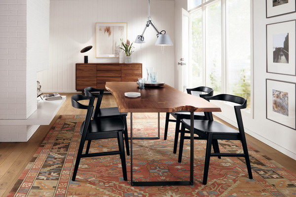 Emejing Black Metal Dining Room Chairs Gallery   Countrycandles.us .