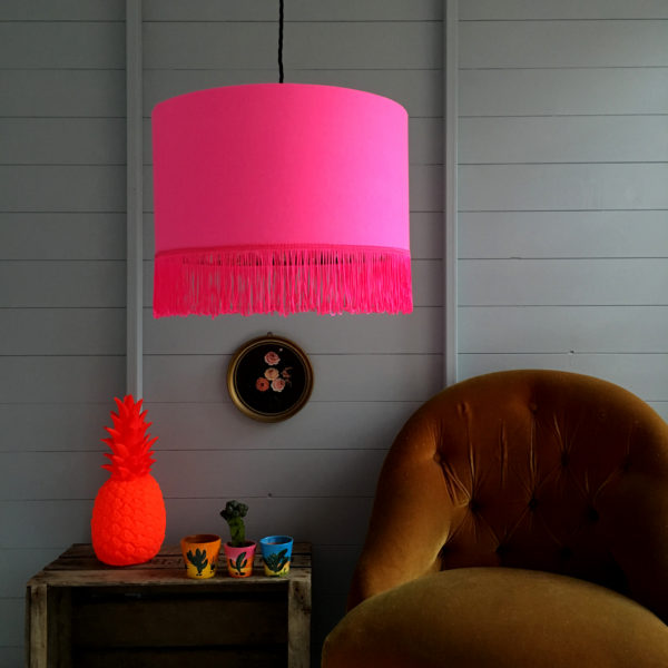 neon lampshade love frankie